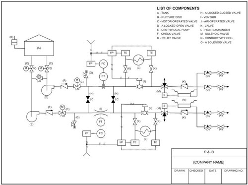 piping  instrument diagram  charles black  associates inc, wiring diagram